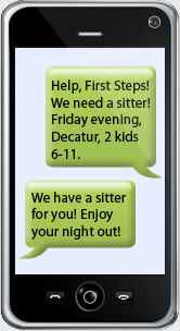 First Steps Network - Getting A Sitter Is Easy!